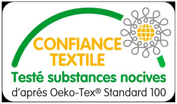 Nous sommes labelisé Oeko-Tex