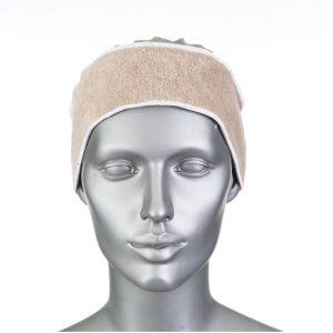 92 : Bandeau éponge double face - Velcro - 100% polyester