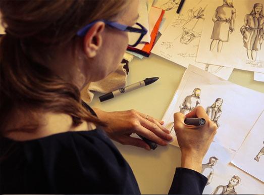 Stylisme interne avec une créatrice attitrée à toutes nos collections