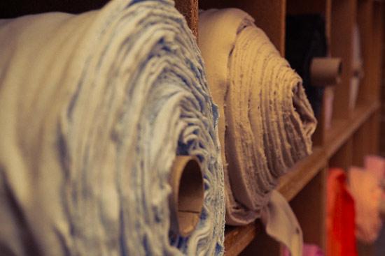 Roulmeaux de tissu kodev
