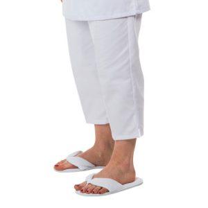 Pantacourt ventre plat - blanc ou noir - sans poche