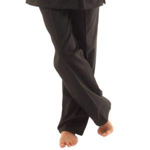 Pantalon ventre plat - noir ou blanc - sans poche
